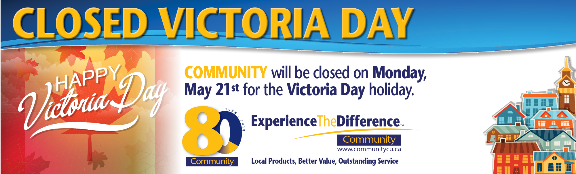 Victory Day Closure